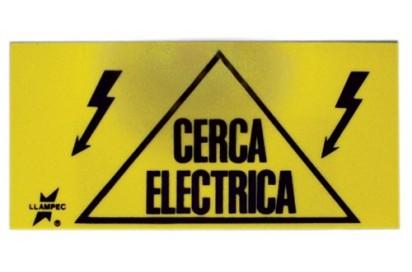 LETRERO INDICADOR CERCA ELECTRICA